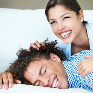 glückliches Paar - Work-Life-Balance